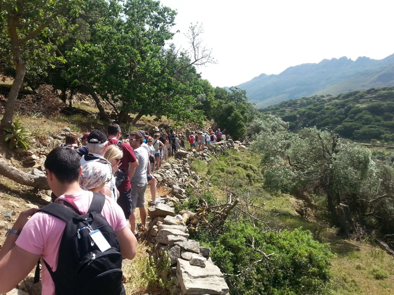 Trekking at Kato Meria